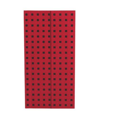 Paper-Oh Quadro Red on Black B6.5 üres