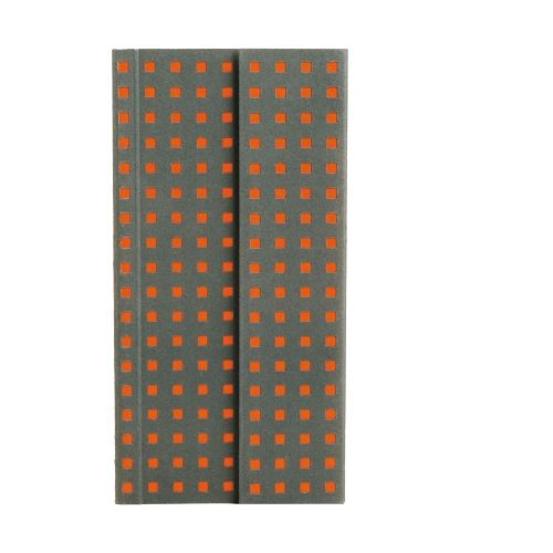 Paper-Oh Quadro Grey on Orange B6.5 vonalas