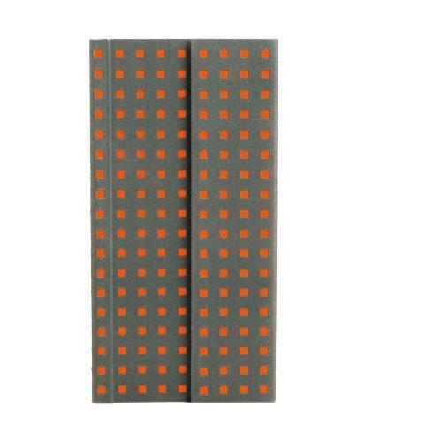 Paper-Oh Quadro Grey on Orange B6.5 üres