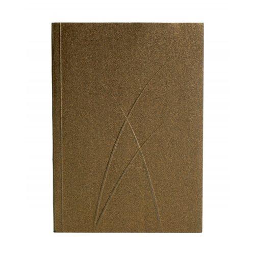 Paper-Oh Puro Bronze A6 vonalas