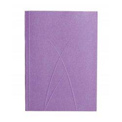 Paper-Oh Puro Plum A6 vonalas