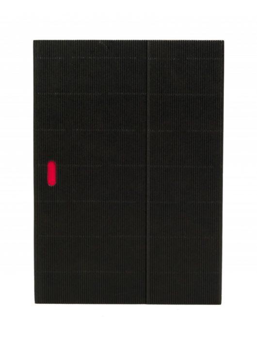 Paper-Oh Ondulo Black A4 vonalas