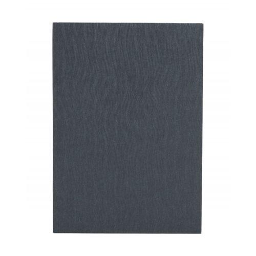 Paper-Oh Yuko-Ori Metallic Grey A5 vonalas