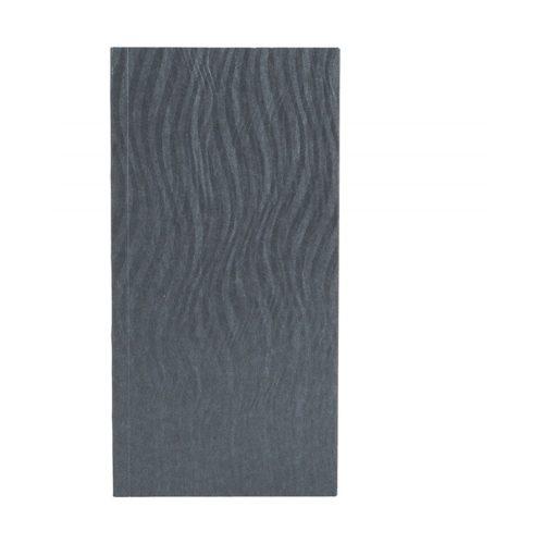 Paper-Oh Yuko-Ori Metallic Grey B6.5 vonalas