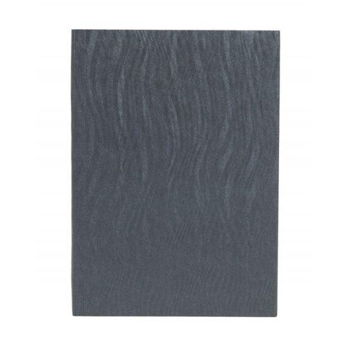 Paper-Oh Yuko-Ori Metallic Grey A6 vonalas