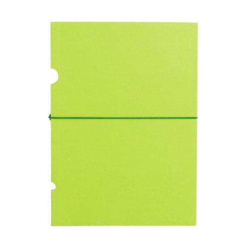 Paper-Oh Buco Lime Green B6 vonalas