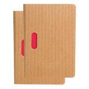 Paper-Oh Cahier Ondulo Natural / Natural B7 üres