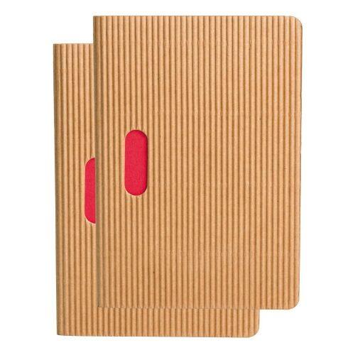 Paper-Oh Cahier Ondulo Natural / Natural B7 kockás