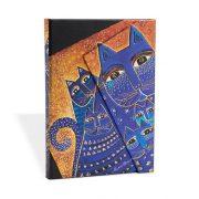 Paperblanks butikkönyv Mediterranean Cats mini vonalas