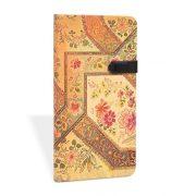 Paperblanks butikkönyv Filigree Floral Ivory midi vonalas