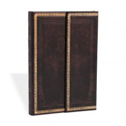 Paperblanks butikkönyv Black Moroccan grande üres