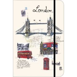 teNeues London kis városi naplo