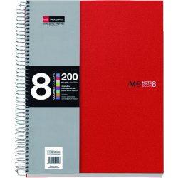 Spirálfüzet Miquelrius Note Book 8