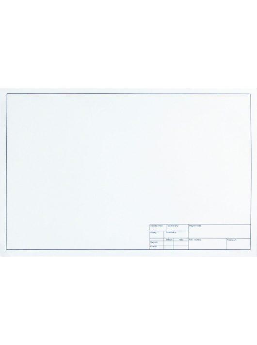 A3-es műszaki rajzlap