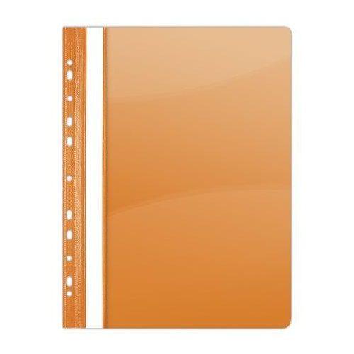 Gyorsfűző, lefűzhető, PVC, A4, DONAU, narancssárga (D1704N)