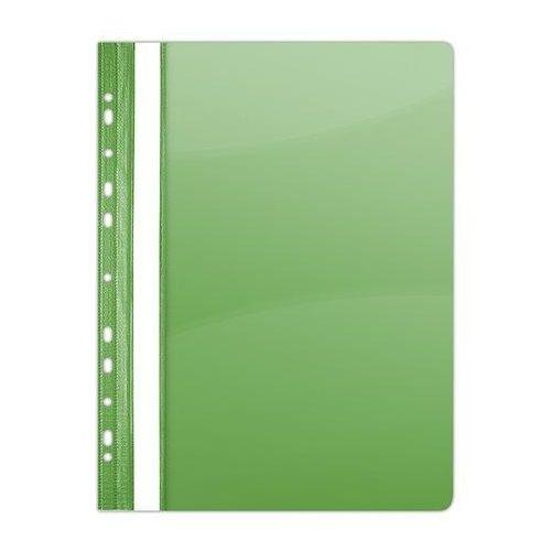 Gyorsfűző, lefűzhető, PVC, A4, DONAU, zöld (D1704Z)