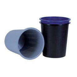 Papírkosár, 14 liter, DONAU, fekete (D305FK)