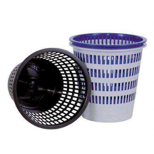 Papírkosár, 16 liter, DONAU, fekete (D306FK)