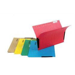 Függőmappa, oldalvédelemmel, karton, A4, DONAU, sárga (D7420S25), 25db