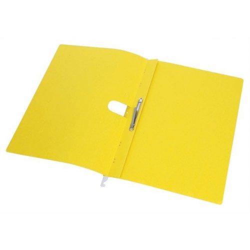 Függőmappa, gyorsfűzős, karton, A4, DONAU, sárga (D7430S), 25db
