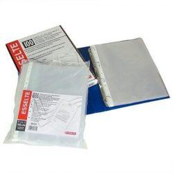 """Genotherm 100 db, lefűzhető, A4, 35 mikron, narancsos felület, ESSELTE """"Standard"""" (E16690)"""