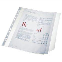 Genotherm 10 db, lefűzhető, A4, 100 mikron, narancsos felület, behajtható füllel, ESSELTE (E17939)