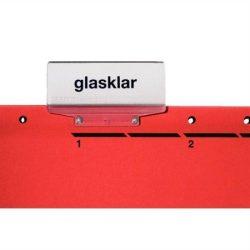 """Függőmappa, gyorsfűzős, karton, A4, LEITZ """"Alpha"""", piros (E19840025), 25db"""