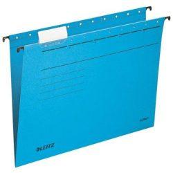 """Függőmappa, karton, A4, LEITZ, """"Alpha Standard"""", kék (E19850035), 25db"""