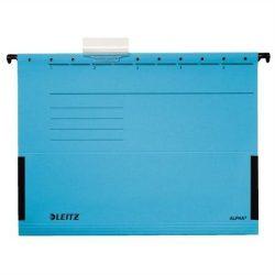"""Függőmappa, oldalvédelemmel, karton, A4, LEITZ """"Alpha"""", kék (E19860035), 25db"""