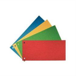Elválasztócsík, karton, ESSELTE, sárga (E20994)