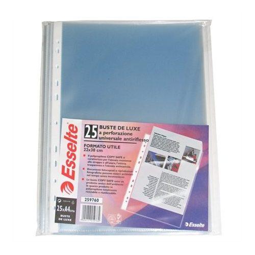 """Genotherm, lefűzhető, A4 maxi, 120 mikron, narancsos felület, ESSELTE """"Maxi"""""""