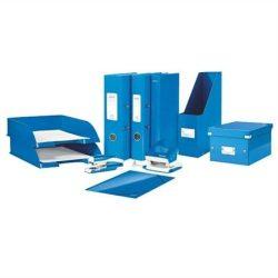 """Gyorsfűző, laminált karton, lakkfényű, A4, LEITZ """"Wow"""", kék (E30010036)"""