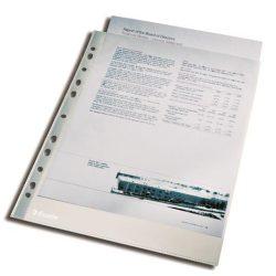"""Genotherm, lefűzhető, A4, 105 mikron, víztiszta felület, ESSELTE """"Luxus"""", 100db"""