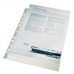 """Genotherm 25 db, lefűzhető, A4, 43 mikron, narancsos felület, ESSELTE """"Standard"""" (E56148)"""