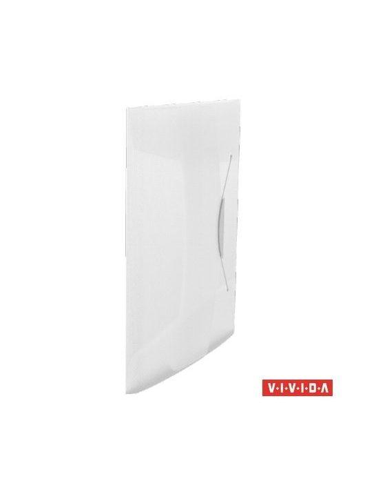 "Gumis mappa, 15 mm, PP, A4, ESSELTE ""Vivida"", fehér"