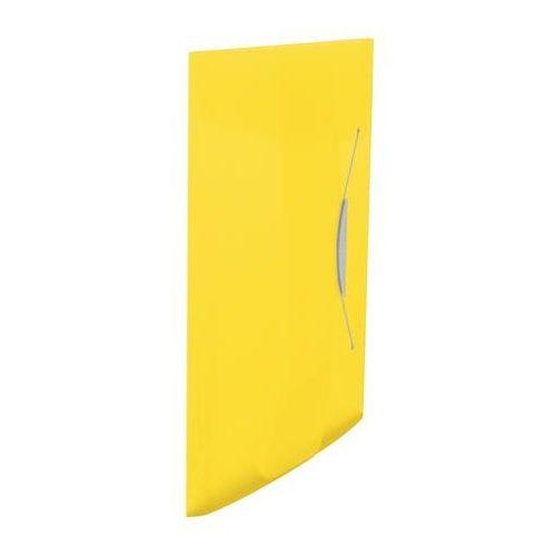 """Gumis mappa, 15 mm, PP, A4, ESSELTE """"Vivida"""", sárga"""