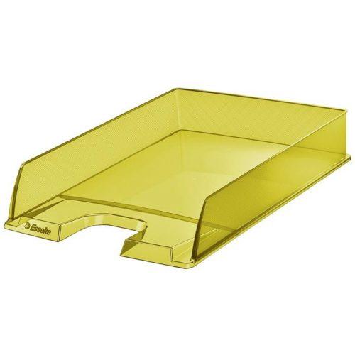 "Irattálca, műanyag, ESSELTE ""Colour'Ice"", sárga"