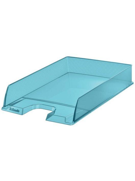 """Irattálca, műanyag, ESSELTE """"Colour'Ice"""", kék"""
