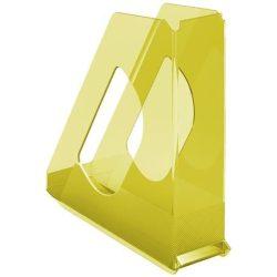 """Iratpapucs, műanyag, 68 mm, ESSELTE """"Colour'Ice"""", sárga"""