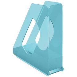 "Iratpapucs, műanyag, 68 mm, ESSELTE ""Colour'Ice"", kék"