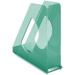 "Iratpapucs, műanyag, 68 mm, ESSELTE ""Colour'Ice"", zöld"