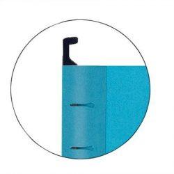 """Függőmappa, újrahasznosított karton, A4, ESSELTE """"Pendaflex Standard"""", kék (E90311), 25db"""