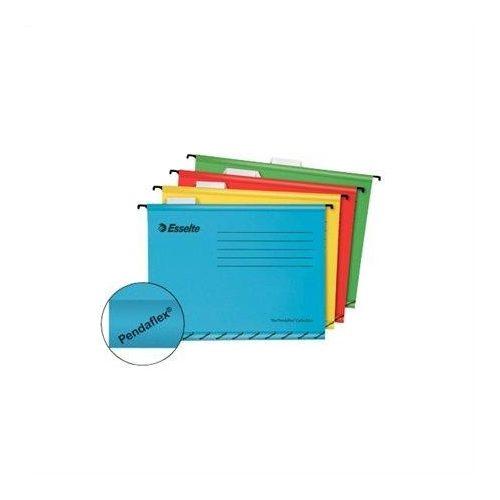 """Függőmappa, újrahasznosított karton, A4, ESSELTE """"Pendaflex Standard"""", sárga (E90314), 25db"""
