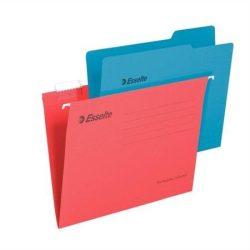 """Függőmappa, újrahasznosított karton, A4, ESSELTE """"Pendaflex Standard"""", piros (E90316), 25db"""
