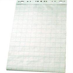 Flipchart papír, sima-kockás, 60x85 cm, 50 lap, ESSELTE (E96551)