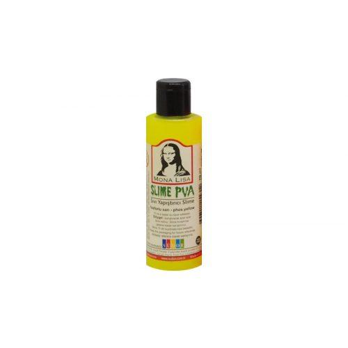 Mona Lisa Slime ragasztó 70 ml, neon sárga