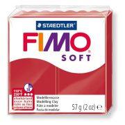 "Gyurma, 57 g, égethető, FIMO ""Soft"", karácsonyi piros"