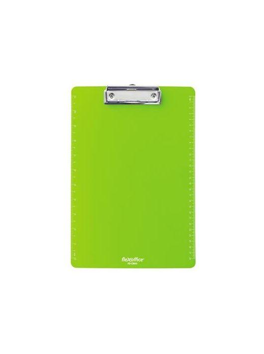 """Felírótábla, A4, FLEXOFFICE """"FO-CB011"""", zöld"""