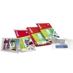 Fólia, írásvetítőhöz, A4, fénymásolóba, lehúzható vezetőcsíkkal, APLI (FOFA861)