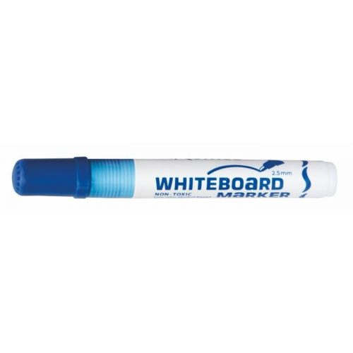 """Táblamarker, 2,5 mm, kúpos, FLEXOFFICE """"WB02"""", kék"""